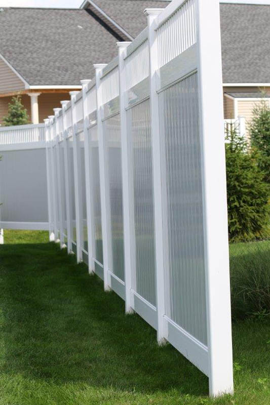 Buy Supplies For A Vinyl Privacy Fence Jonestown