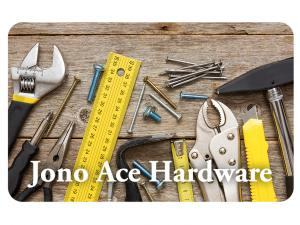 Jono Hardware Gift Cards