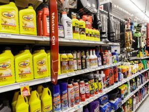 Car oil and supplies