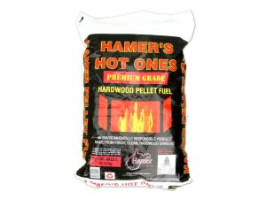 Hamer's Hot Ones • Wood Pellets