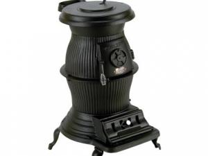 Cast Iron Potbelly wood Stove