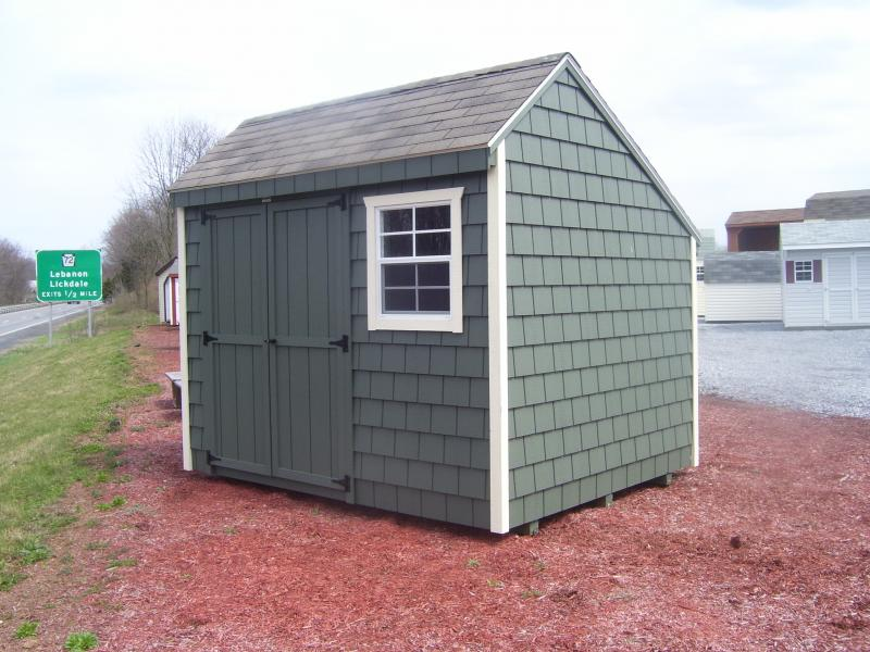 Custom buildings rebuild lives with your storage shed for Saltbox storage shed