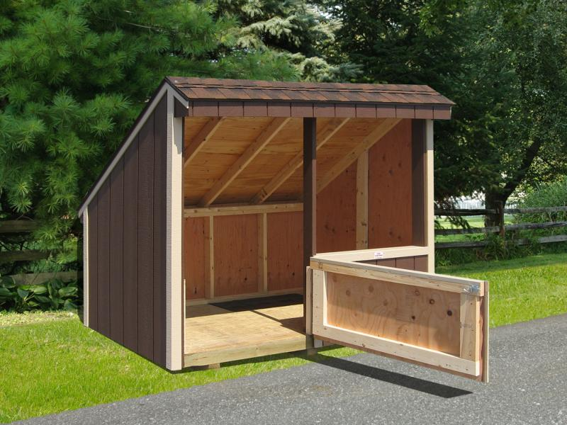 4x8 Garbage Shed