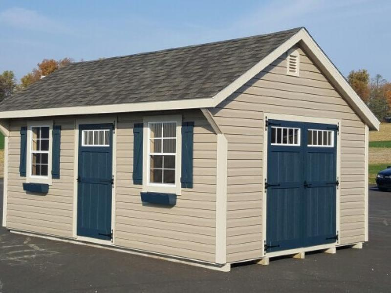 English Carriage Rebuild Lives With Your Storage Shed