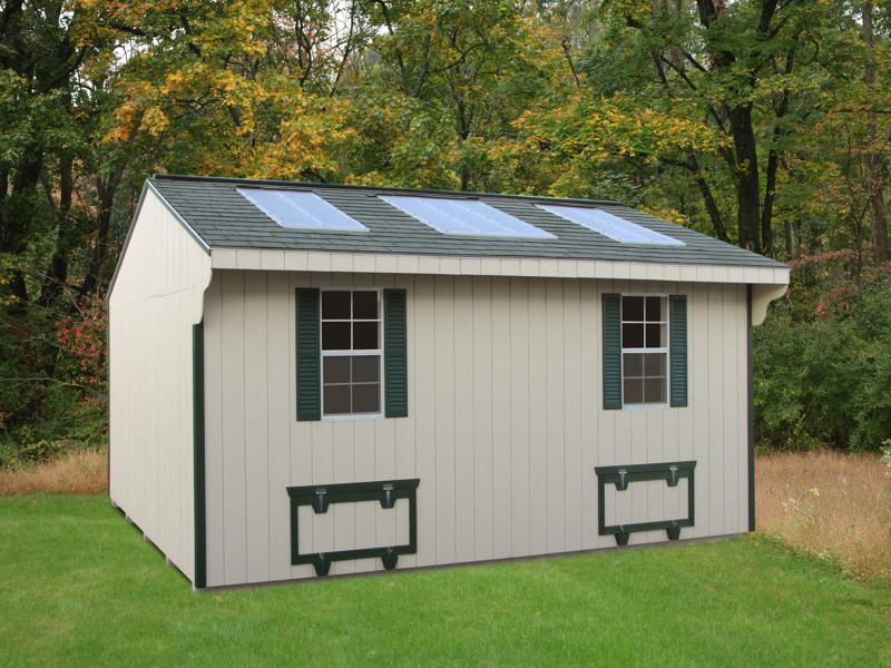 10 x 16 homing pigeon shed