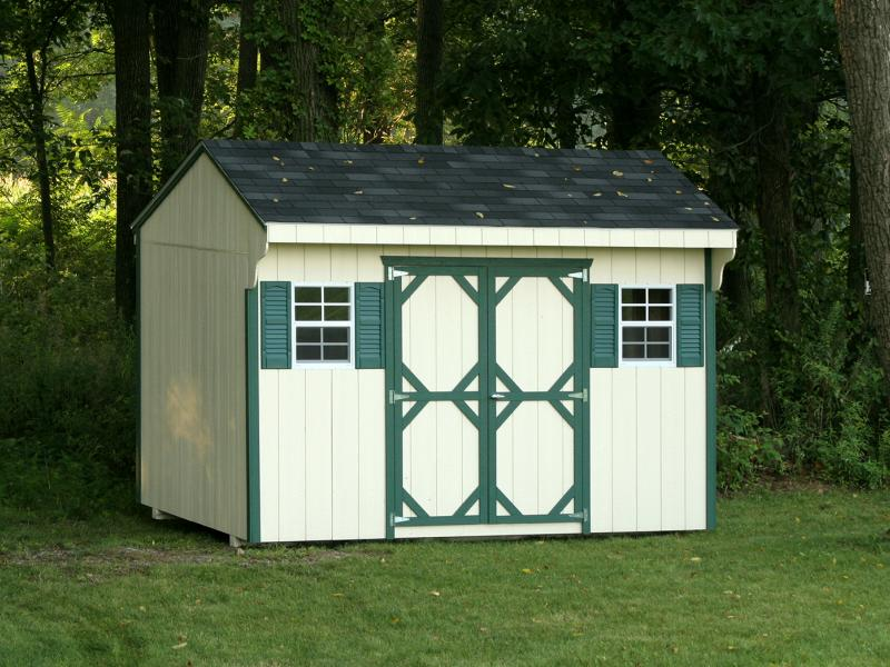 Quaker storage shed rebuild lives with your storage shed for 18x27 window