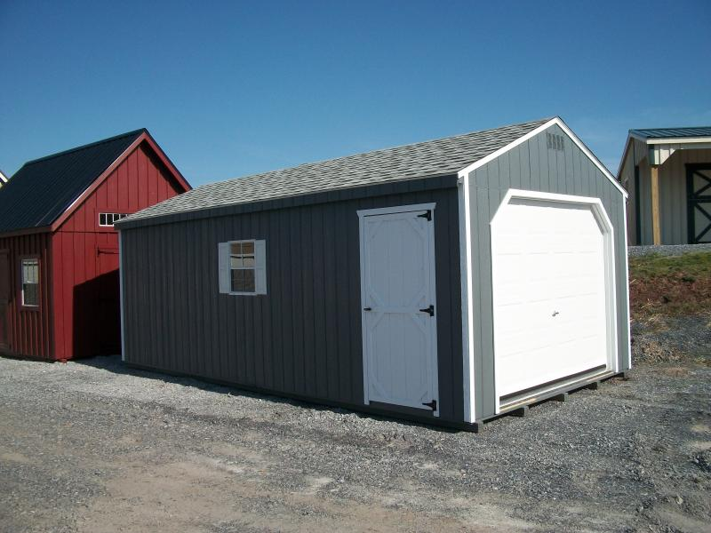 Barn170 Wood Siding Garage In Stock Storage Sheds