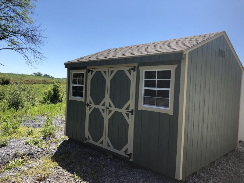 BARN219 10X12 WOOD AFRAME SHED - In-Stock Storage Sheds - Jonestown, PA