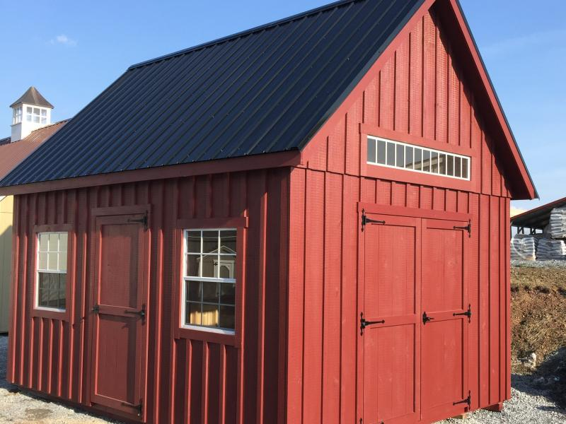 Barn 200 12x16 Board Amp Batten 2 Story Barn In Stock Storage Sheds Jonestown Pa