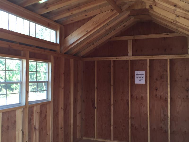 Barn 129 10x14 English Cottage In Stock Storage Sheds