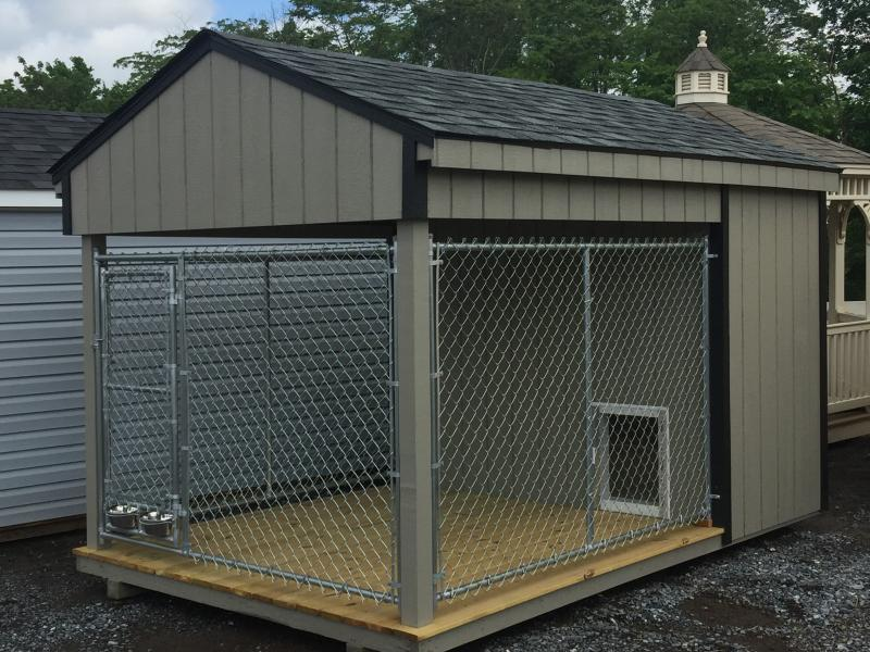 8x12 Wood Aframe Dog Kennel Barn185 In Stock Storage