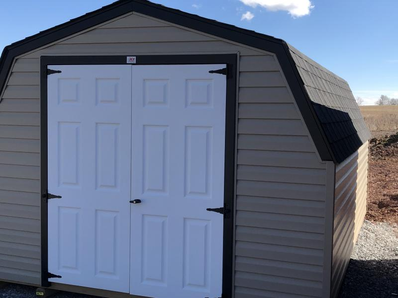 BARN261 - 10' X 16' VINYL ECONOMY MINI BARN - In-Stock Storage Sheds