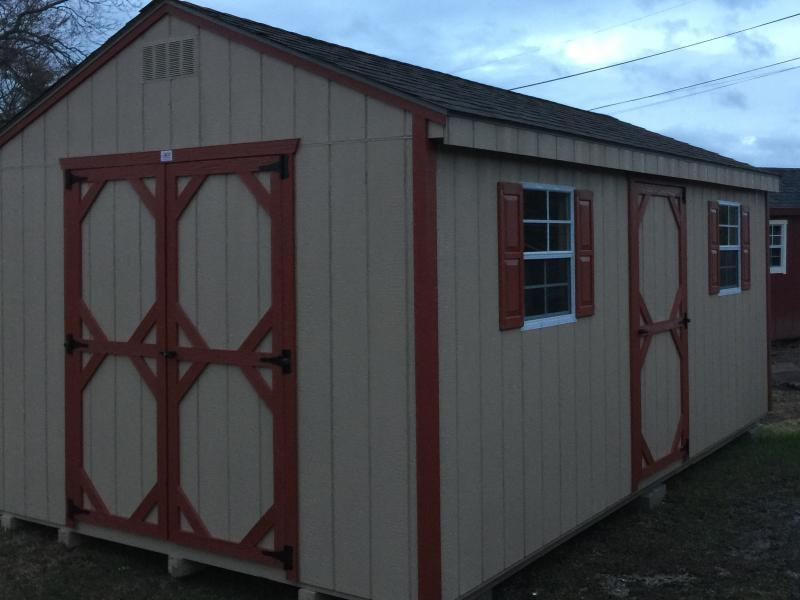 10 X 18 WOOD A-FRAME SHED - In-Stock Storage Sheds - Jonestown, PA