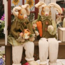 Country Bunny Decorations • Myerstown PA