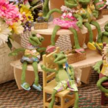 Country Frog Decorations • Myerstown PA
